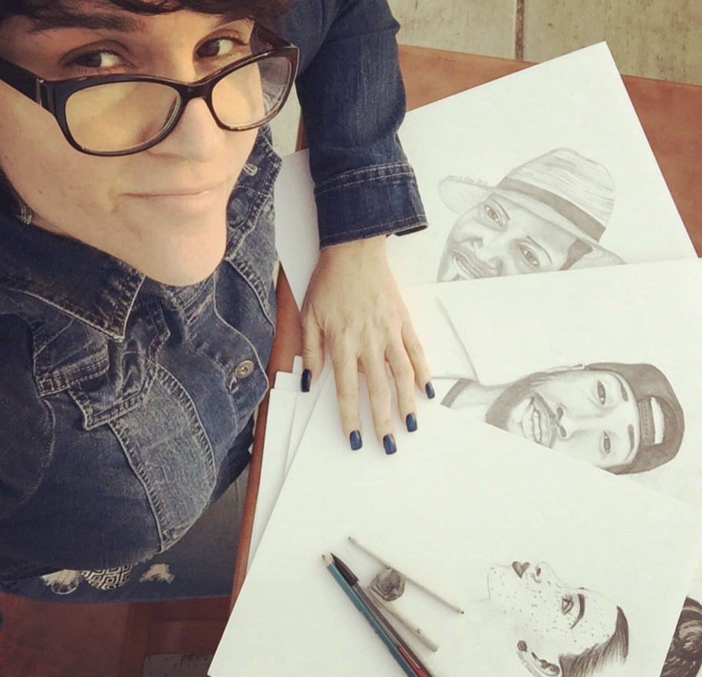 Me and My Pencil Portraits